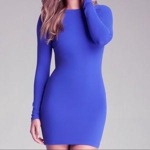 Electric blue bebe dress